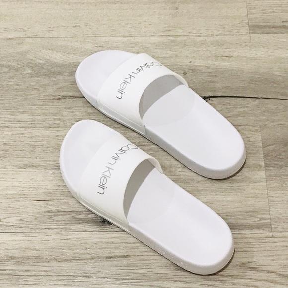 Calvin Klein Shoes | Girls Slides